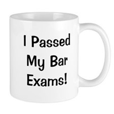 Bar Exams Passed Success Celebration Mug