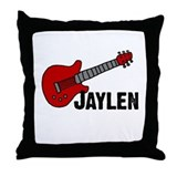 Guitar - Jaylen Throw Pillow