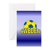 Team Sweden Greeting Cards (Pk of 10)