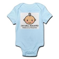 Well-Adjusted Baby (Fair) Infant Bodysuit