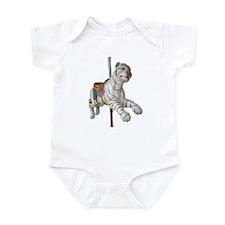 carousel tiger Infant Bodysuit