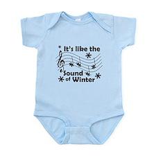Sound of Winter Infant Bodysuit