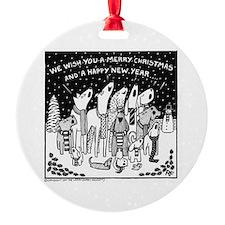Dog Christmas Carols! Ornament