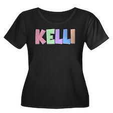 Kelli Rainbow Pastel T