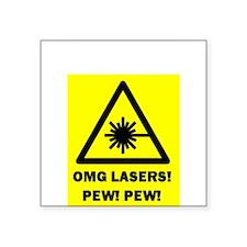 Laser Pew Pew Sticker