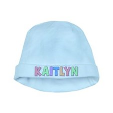 Kaitlyn Rainbow Pastel baby hat