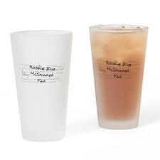 Rookie Blue McSwarek Fan Drinking Glass