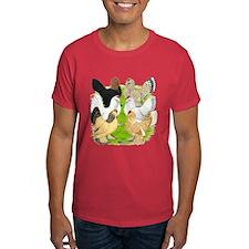 Six DUccle Hens T-Shirt