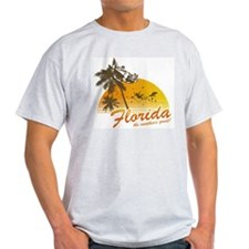 DIRECT PRINTED Visit Florida T-Shirt