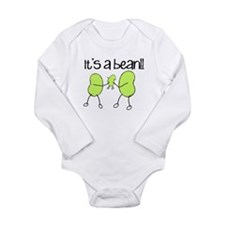 Baby Bean Long Sleeve Infant Bodysuit