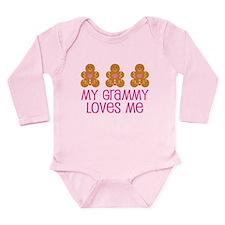 Grammy Loves Me Gingerbread man Long Sleeve Infant