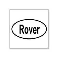 ROVER Oval Sticker
