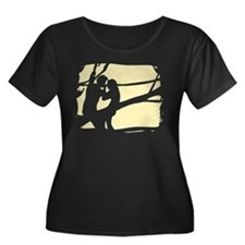 2-my favorite time is twilight Plus Size T-Shirt P