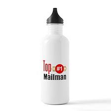 Top Mailman Water Bottle