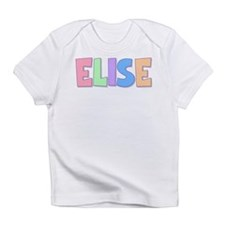 Elise Rainbow Pastel Infant T-Shirt