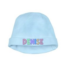 Denise Rainbow Pastel baby hat