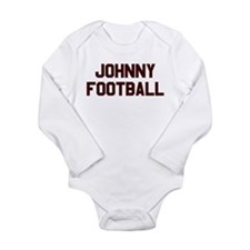 Johnny Football Long Sleeve Infant Bodysuit