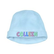 Colleen Rainbow Pastel baby hat