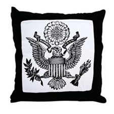 Great Seal Throw Pillow