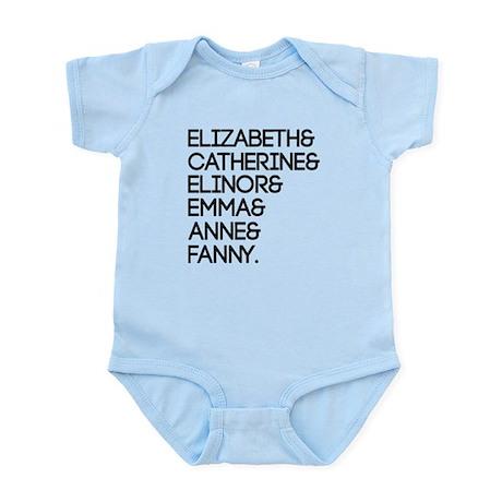 Austen Heroines Infant Bodysuit