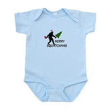 Merry Squatchmas Infant Bodysuit