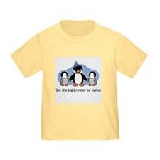 Big Brother of Twins (Penguin T-Shirt