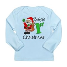 Babys 1st Christmas Long Sleeve Infant T-Shirt