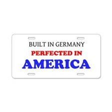 VW Aluminum License Plate