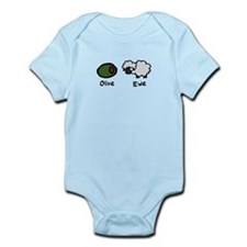 Olive Ewe Infant Bodysuit