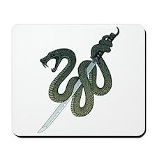 Katana Snake Mousepad