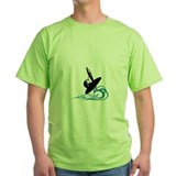 Organic Men's T-Shirt- Shadow Windsurfing T-Shirt