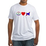 Peace, Love, Afghan Hounds Shirt