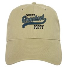 World's Greatest Poppy Baseball Cap