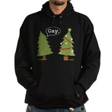 Christmas trees Hoody