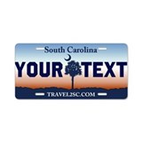 Personalize south carolina License Plates