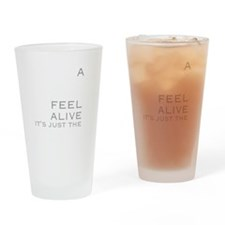 Drink Gin & Tonic Drinking Glass