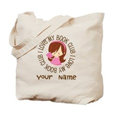 Personalized Book Club Tote Bag