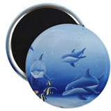"Dolphin Friends 2.25"" Magnet (10 pack)"
