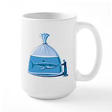 Shark in a Bag Mug