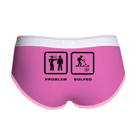 Metal Detecting Women's Boy Brief