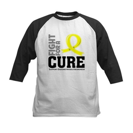 Endometriosis Fight For A Cure Kids Baseball Jerse