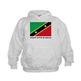 Saint Kitts & Nevis Flag Stuff Hoodie