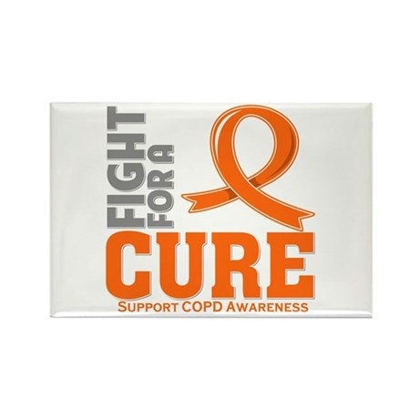 COPD Fight For A Cure Rectangle Magnet