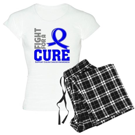 Colon Cancer Fight For A Cure Women's Light Pajama