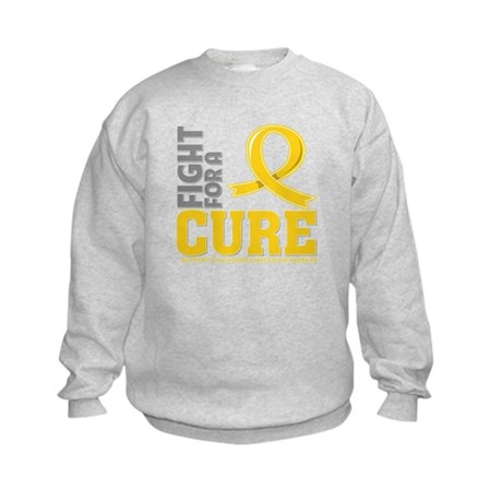 Childhood Cancer Fight Kids Sweatshirt