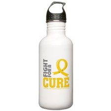 Childhood Cancer Fight Water Bottle
