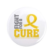 "Childhood Cancer Fight 3.5"" Button (100 pack)"