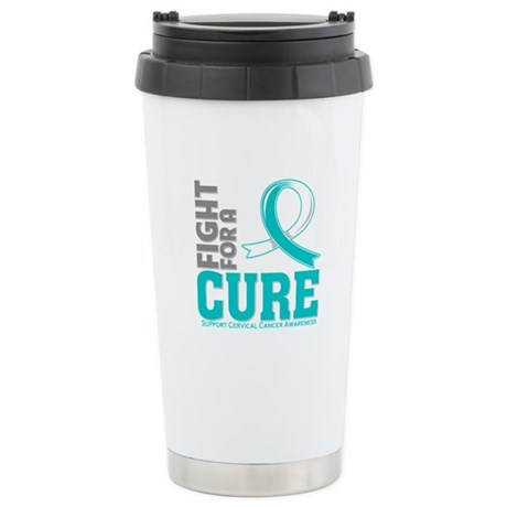 Cervical Cancer Fight For A Cure Ceramic Travel Mu
