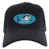 greatwhitebluoval.png Baseball Cap