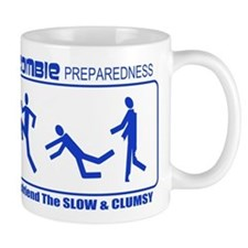 Zombie Preparedness Befriend Slow Clumsy Mug